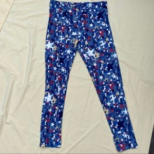 Stars and polka dots TC Lularoe new leggings